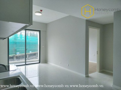 The pristine 1 bed-apartment without interior at Masteri An Phu