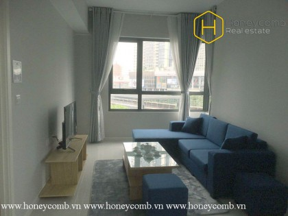 The 1 bed-apartment is simple but very convenient from Masteri An Phu