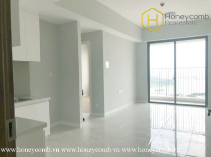 This wide 2 bed-apartment without interior is ready to move in at Masteri An Phu
