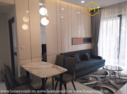 This is modern 2 bedrooms-apartment in Masteri An Phu