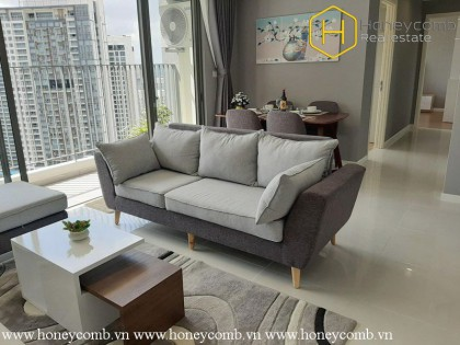 Amazing !! The 3 bedroom-apartment with specific design from Masteri An Phu