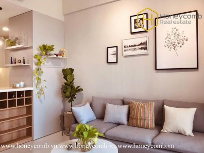 So hot !! This creative and gracious 1 bedroom-apartment is available at Masteri An Phu