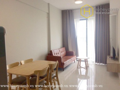 The classical and simple 2 bedroom-apartment for lease in Masteri An Phu