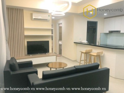 Brand new 2 bedrooms apartment with park view in Masteri Thao Dien