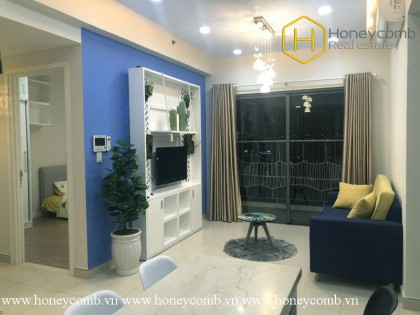 The lovely and colorful 1 bedroom-apartment for lease in Masteri Thao Dien