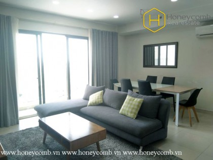 The radiant and airy 3 bedroom-apartment from Masteri Thao Dien