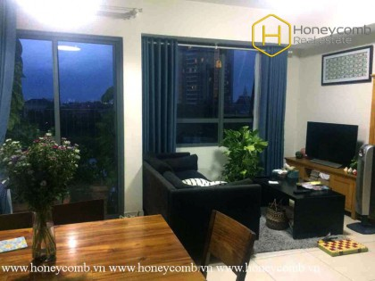 The airy and fresh 2 bedroom-apartment from Masteri Thap Dien