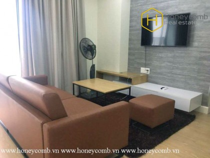 Proper design with smart price All you need is this 2 bed-apartment at Masteri Thao Dien