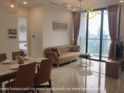 The gentle and charming 1 bedroom-apartment from Vinhomes Golden River