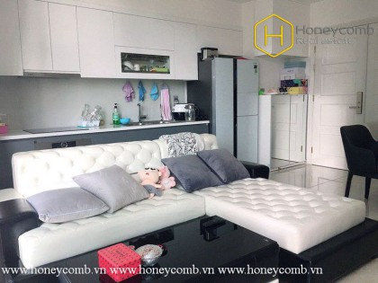 The lovely 2 bed-apartment with cute and young style at Vinhomes Golden River