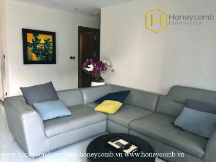 The 3 bed-apartment with spacious and good-looking design from Vinhomes Central Park