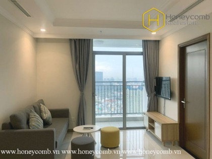 The warm and lovely 3 bedroom-apartment from Vinhomes Central Park