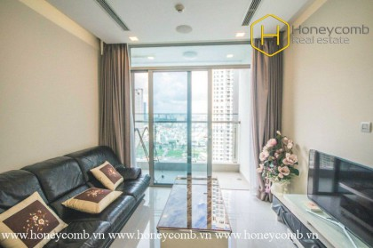 You will be impressed by this unique 1 bedroom-apartment in Vinhomes Central Park