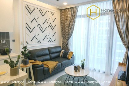 This 2 bedroom-apartment will give you fresh and wonderful feeling at Vinhomes Central Park
