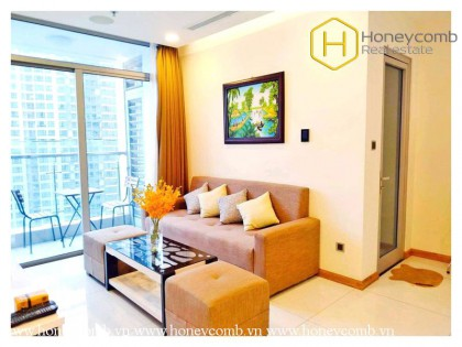 So hot !! This outstanding and fascinating 2 bedroom-apartment is available at Vinhomes Central Park