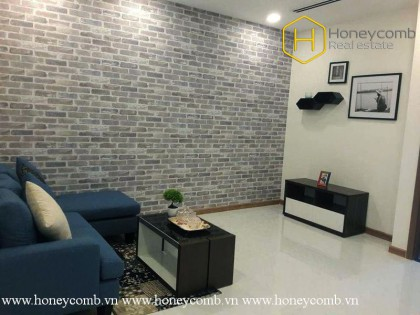 The 1 bedroom-apartment with  fashionable and modern design at Vinhomes Central Park
