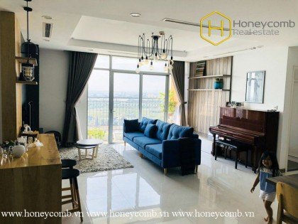 The elegance and uniqueness in design will make you be impressed by this 4 bed-apartment at Vinhomes Central Park