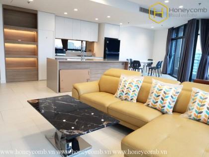 Amazing 3 bedrooms apartment in City Garden for rent