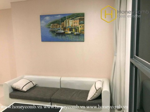The 2 bed-apartment with strong attractiveness in design at Pearl Plaza