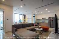 Discover a new wave of life with this urban style apartment at Vinhomes Golden River