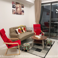 Commodious 1 beautiful bedrooms apartment in Gateway Thao Dien