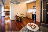Moving into this sophisticated serviced apartment and enjoy a nonstop luxurious life in Binh Thanh District