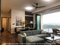 A worth living space of magnificent Saigon- High-class apartment in D' Edge for lease NOW