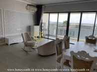 The Gateway Thao Dien 4 bedrooms apartment with elegant furniture