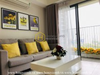 Wonderful 2 beds apartment with nice view in Masteri Thao Dien