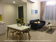 Nice furnished 1 bedroom apartment with pool view in Masteri Thao Dien