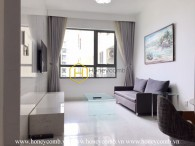 This apartment looks picturesque that allures everyone in Masteri Thao Dien