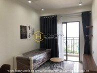 A symbol of minimalist beauty in Sun Avenue Apartment for rent