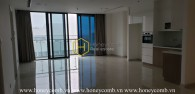Decorate your future home with this unfurnished apartment in Vinhomes Golden River