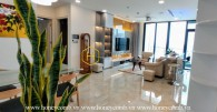 Glamorous apartment in Vinhomes Golden River can make you love at the first sight