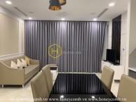 You will be impressed by the gorgeous beauty of this urban design apartment in Vinhomes Golden River