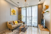 You will be allured by this tropical designed apartment in Vinhomes Golden River