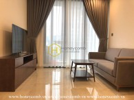 Feel the warmth all around this Vinhomes Golden River apartment