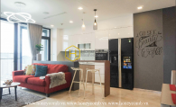 The wonderful things that you would expect is right in this Vinhomes Golden River apartment
