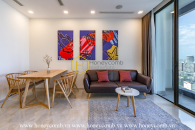 A hidden gem of bustle Saigon - Vinhomes Golden River apartment for leasing
