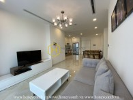 This gorgeous apartment in Vinhomes Golden River provides a spacious & cozy living space