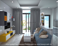 You'll be charmed by this elegant & functional apartment in Vinhomes Golden River