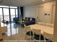 A deluxe apartment with high end interior in Vinhomes Central Park
