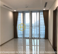 Manifest your personal style in this unfurnished apartment at Vinhomes Landmark 81