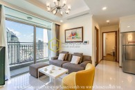 Language is incapacious to describe the opulent beauty of this apartment in Vinhomes Central Park