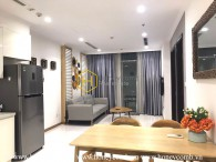 Rustic yet elegant - Vinhomes Central Park apartment that everyone wanna like