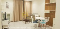 Homey apartment in Vinhomes Central Park with the best rental price in the market