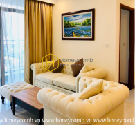 Beautiful in pure white tone - Vinhomes Central Park apartment for leasing
