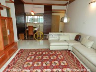 Such an elegant wooden furnished apartment in the Vista for rent