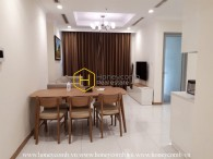 Cozy apartment with full facilities for rent in Vinhomes Central Park