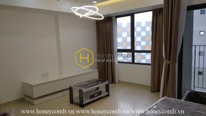 Two beds apartment low floor in Masteri Thao Dien